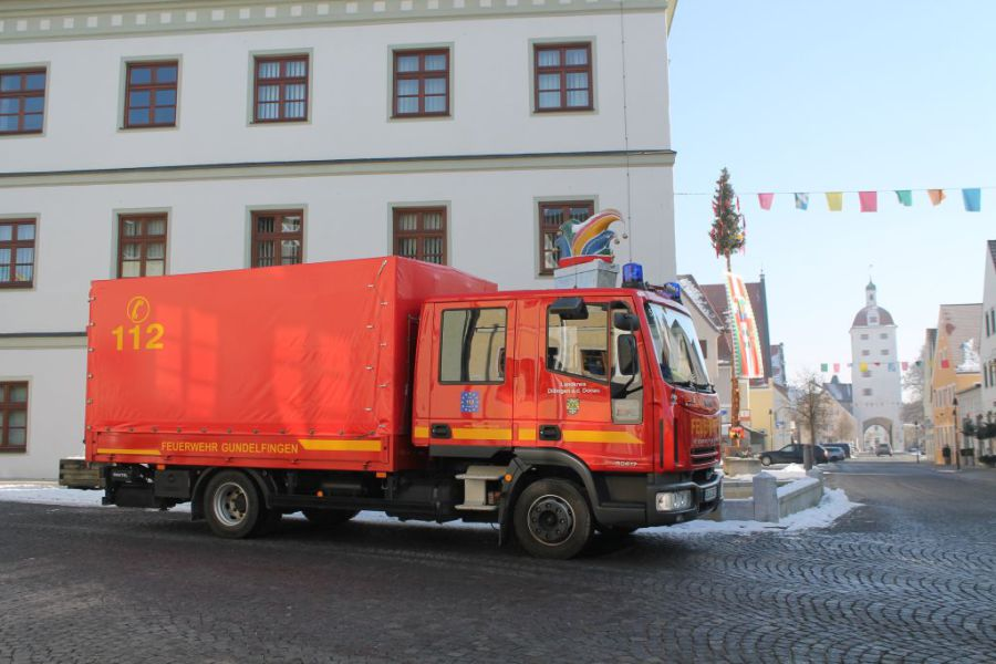 Freiwillige Feuerwehr Gundelfingen - GW-Logistik 55/1